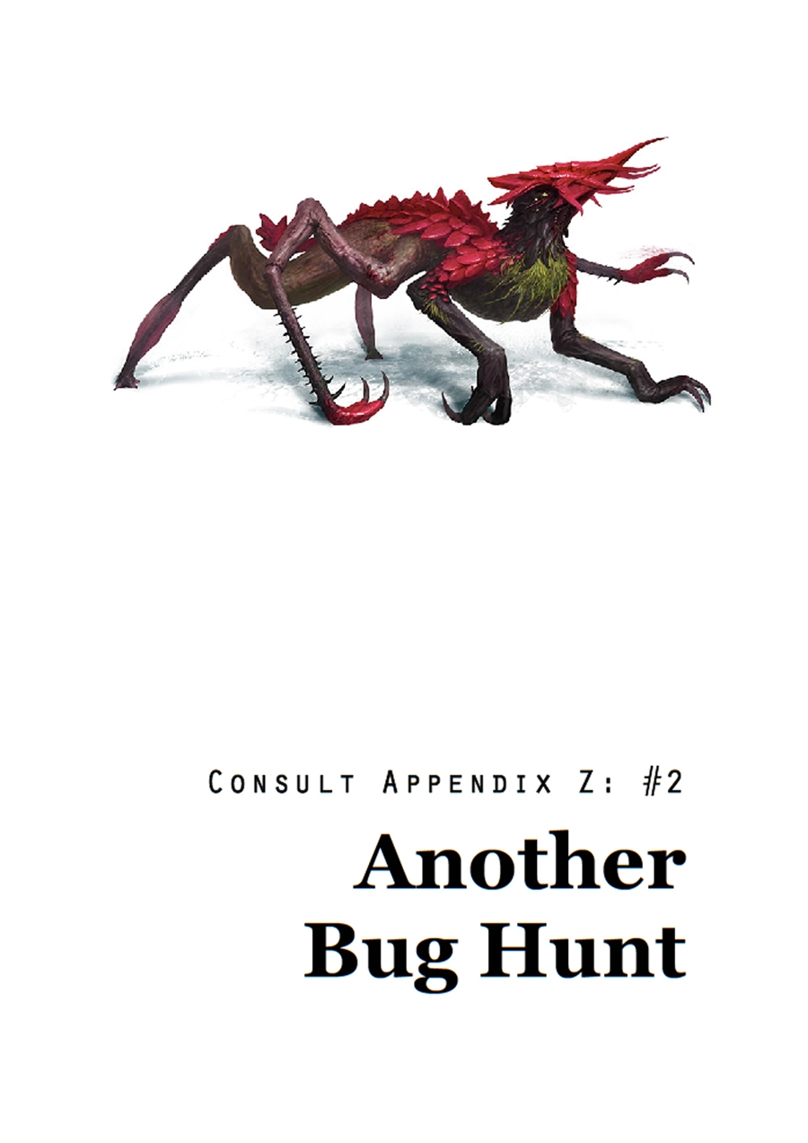 Cover image of Consult Appendix Z No 2 Another Bug Hunt