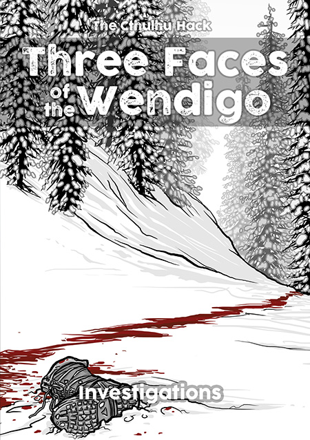 Cover image of Three Faces of the Wendigo